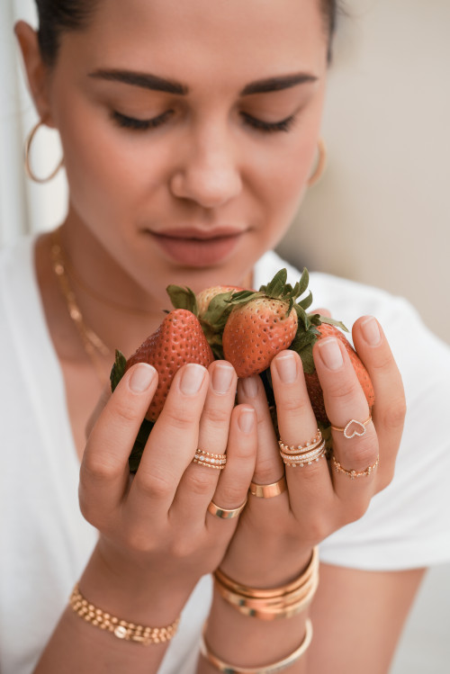 Symphonic Ring by Meher Jewellery on curated-crowd.com