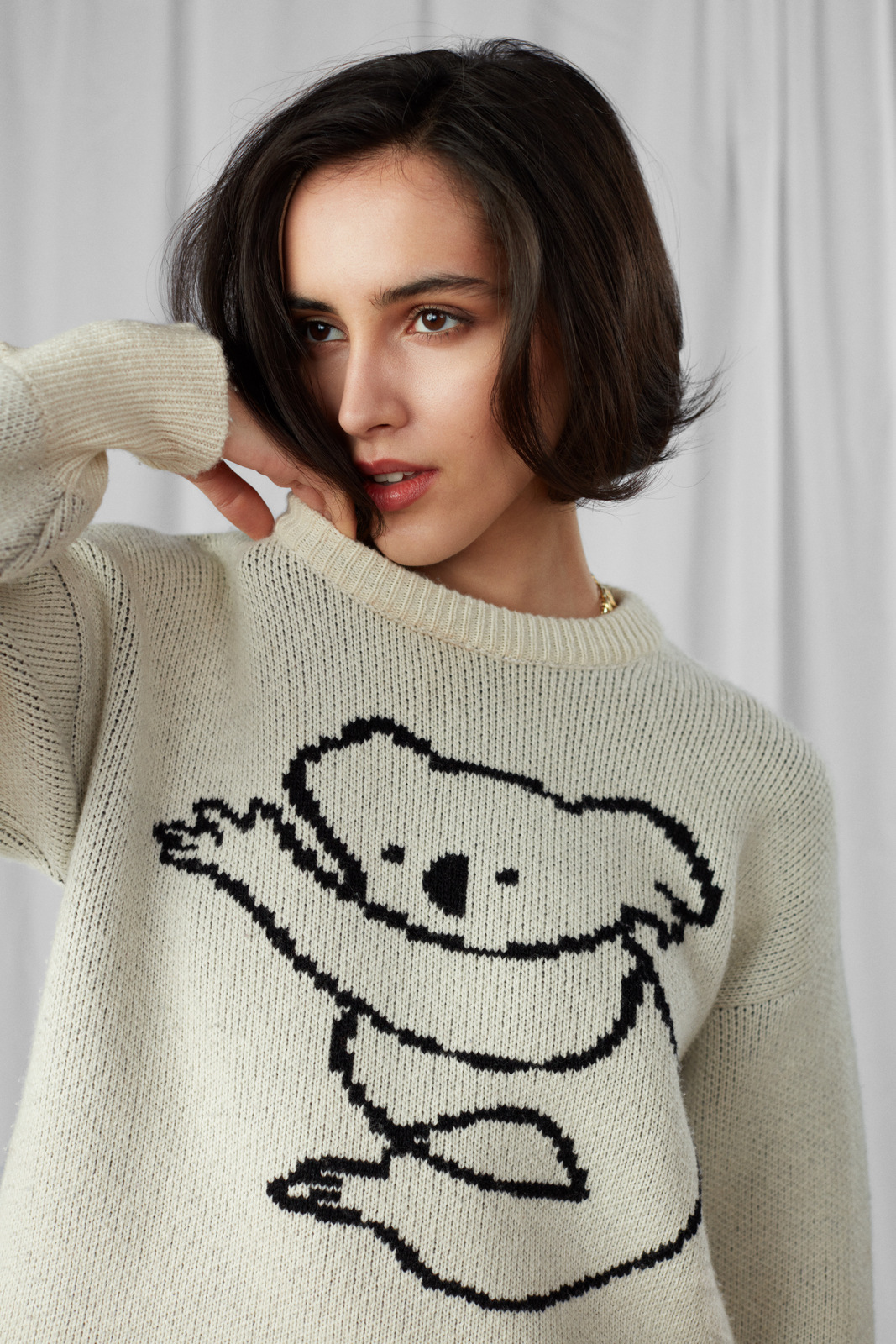 Koala Sweater by Ami Amalia on curated-crowd.com