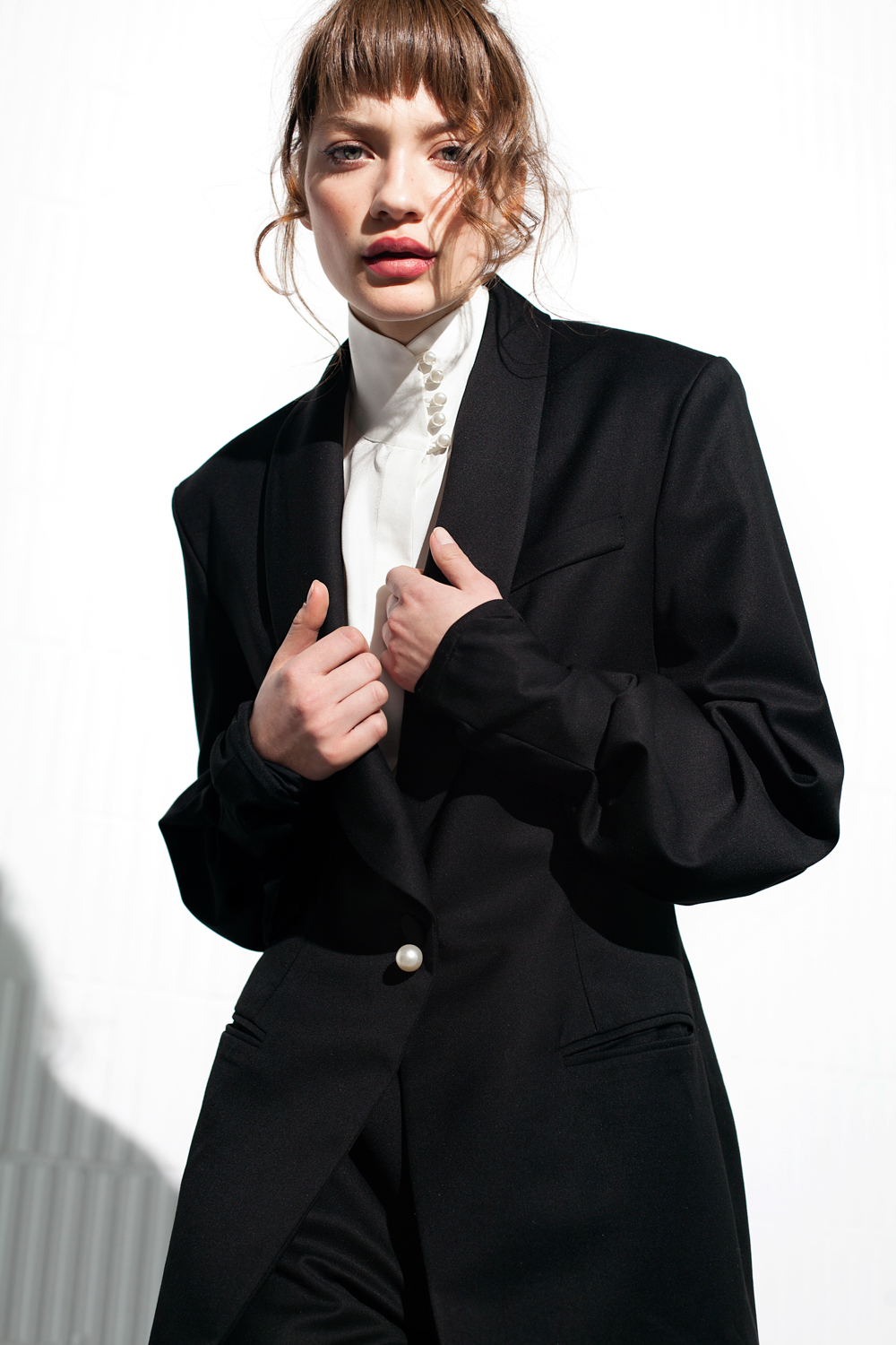 Kerris Blazer by Manurí on curated-crowd.com