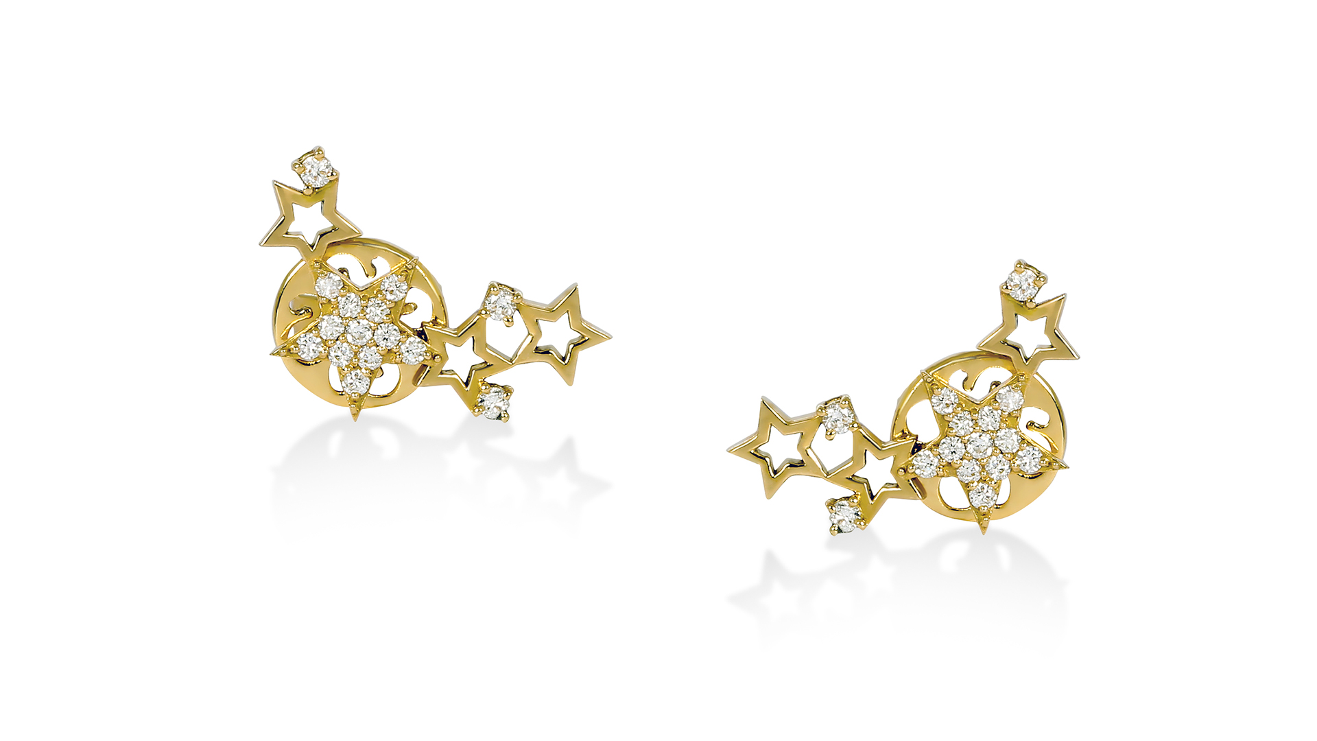 Star Clusters Earrings by Meher Jewellery on curated-crowd.com