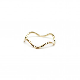Wave Ring by The Straits Finery on curated-crowd.com
