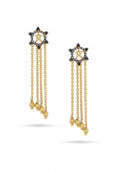 Supernova Earrings by Meher Jewellery on curated-crowd.com