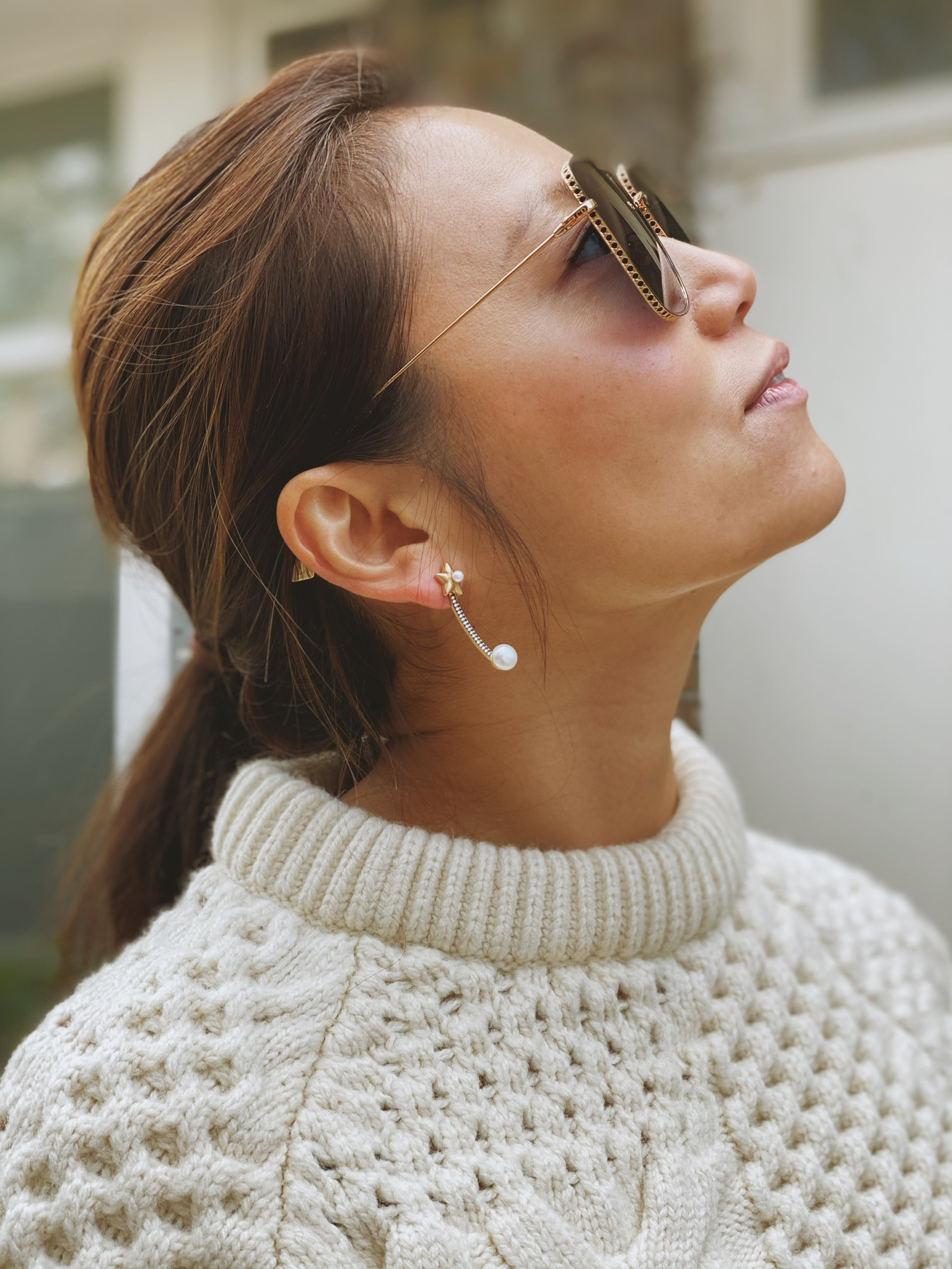 Star Jacket Earrings by AMMANII on curated-crowd.com