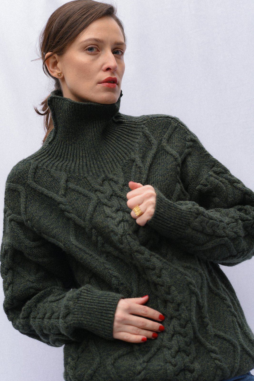"""""""To Infinity"""" Sweater - Forest by Ami Amalia on curated-crowd.com"""