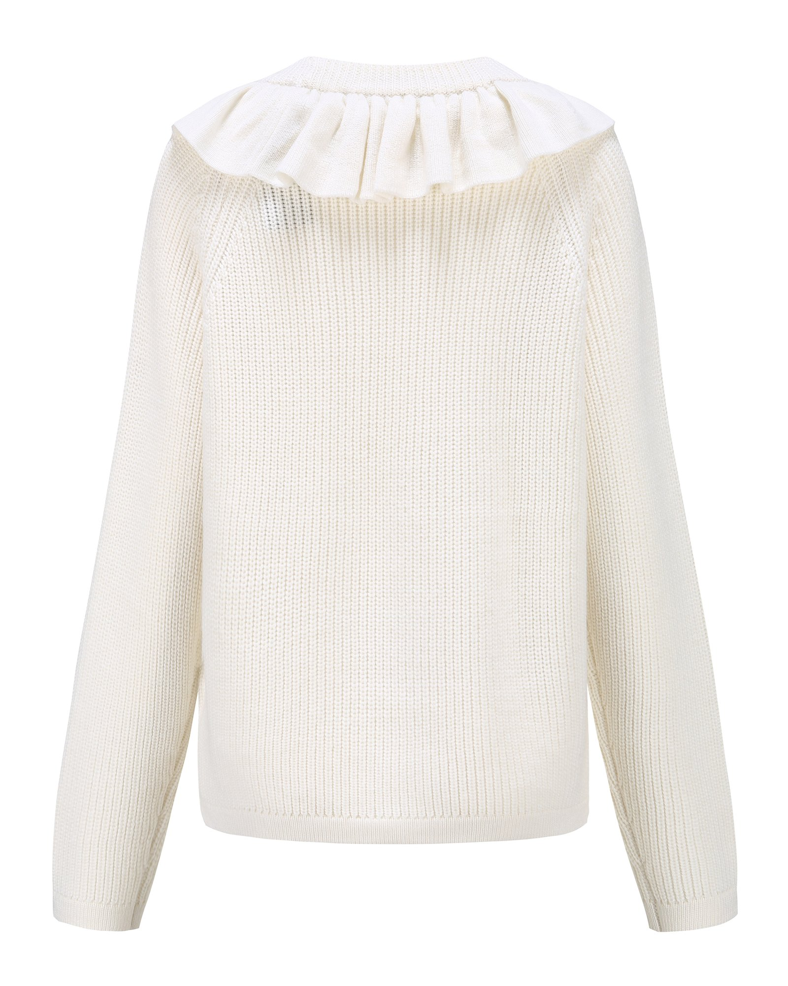 Montana Jumper with Neck Frills by PAPER London on curated-crowd.com