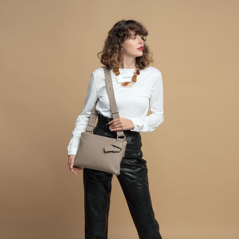 Midi Mayfair Shoulder Bag - Starfish by Esin Akan on curated-crowd.com