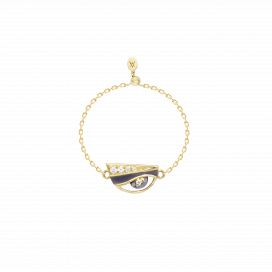 Eye Charm Ring by Aveen on curated-crowd.com