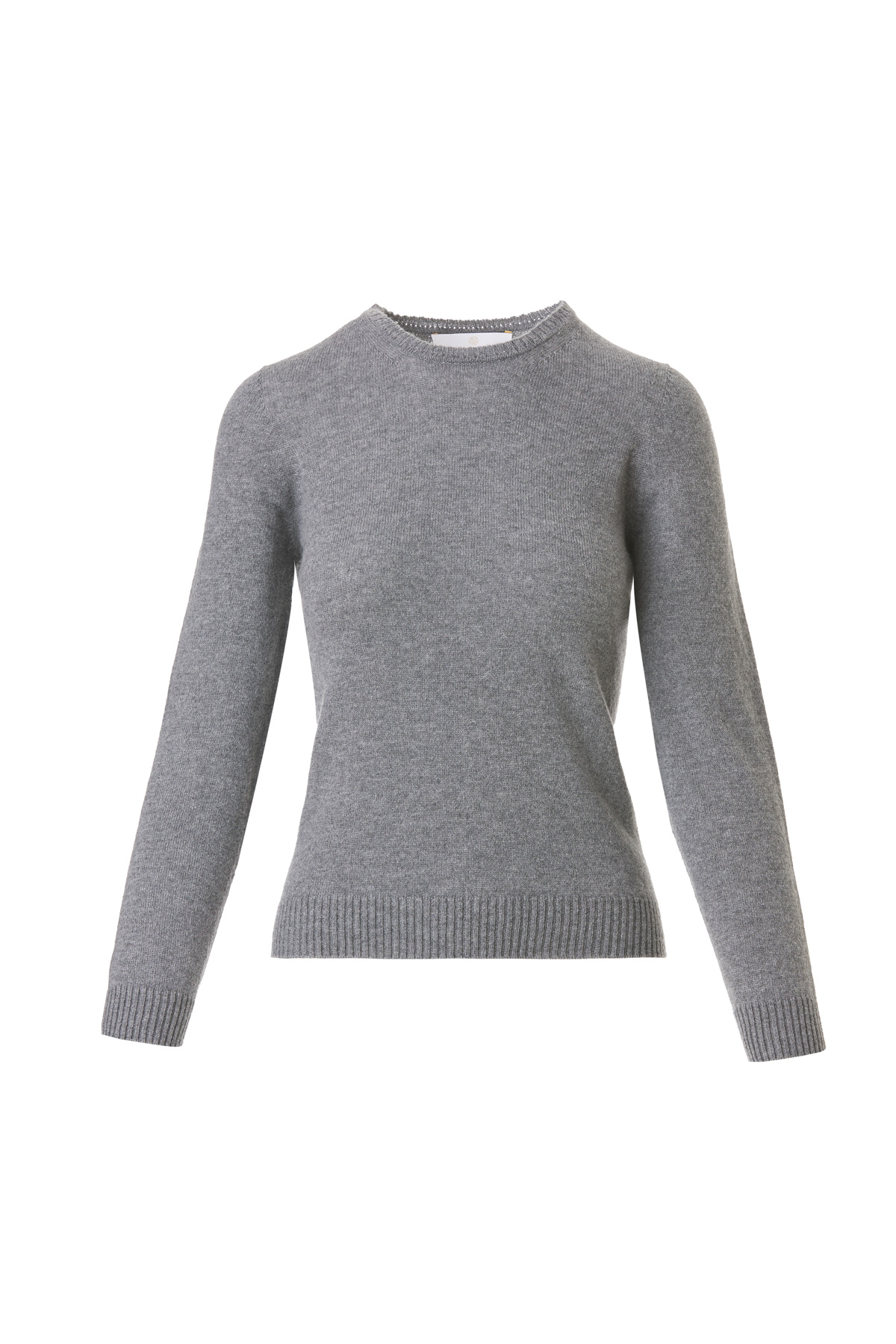 3D Cashmere Sweater - Grey by Ami Amalia on curated-crowd.com
