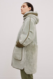 The Reversible Shearling Coat by Marfa Stance on curated-crowd.com