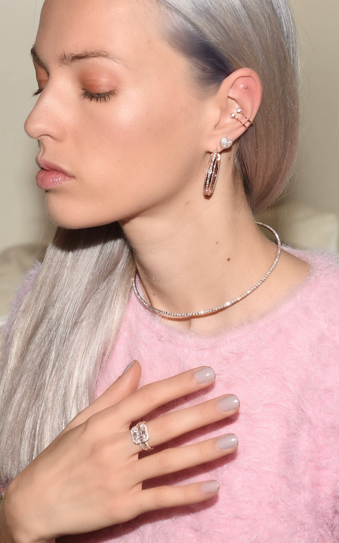 Inner Light Choker by Talita London on curated-crowd.com