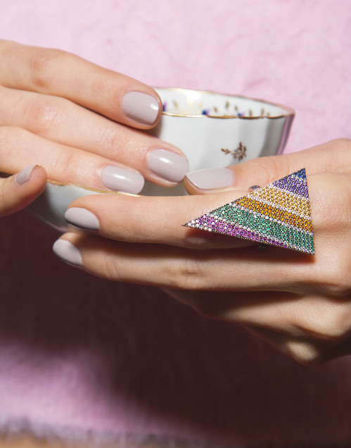 Love Punk Ring by Talita London on curated-crowd.com