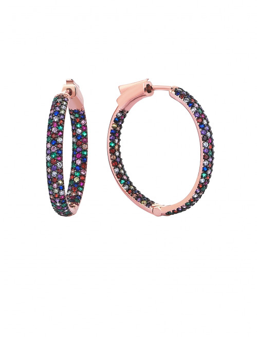 Small Halo Hoops by Talita London on curated-crowd.com