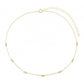 Eleanor Choker by Lalou London on curated-crowd.com