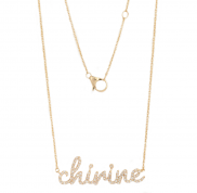 Personalise Your Name - Solid 9K Gold by Lalou London on curated-crowd.com