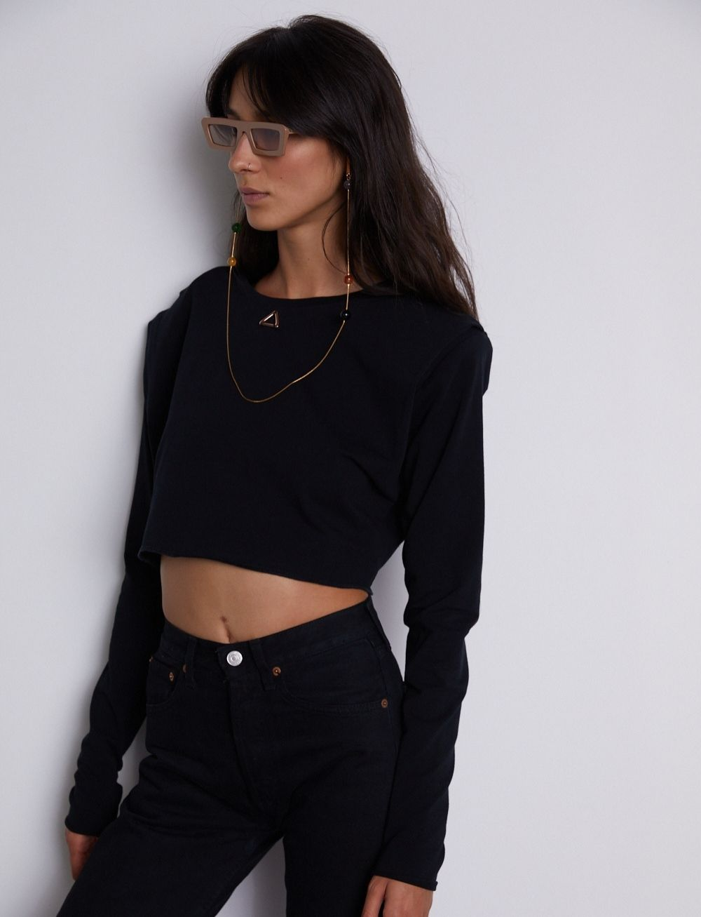 Billie Crop Top by Manurí on curated-crowd.com