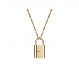 Lock Pendant by Emili on curated-crowd.com