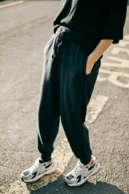 Adelita Jogger - Neat Navy / Blacklead by LAM on curated-crowd.com