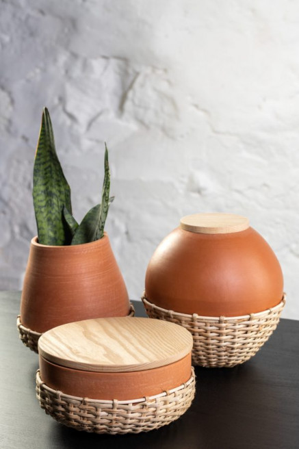 Round Bunaii Ceramics by Kam Ce Kam on curated-crowd.com