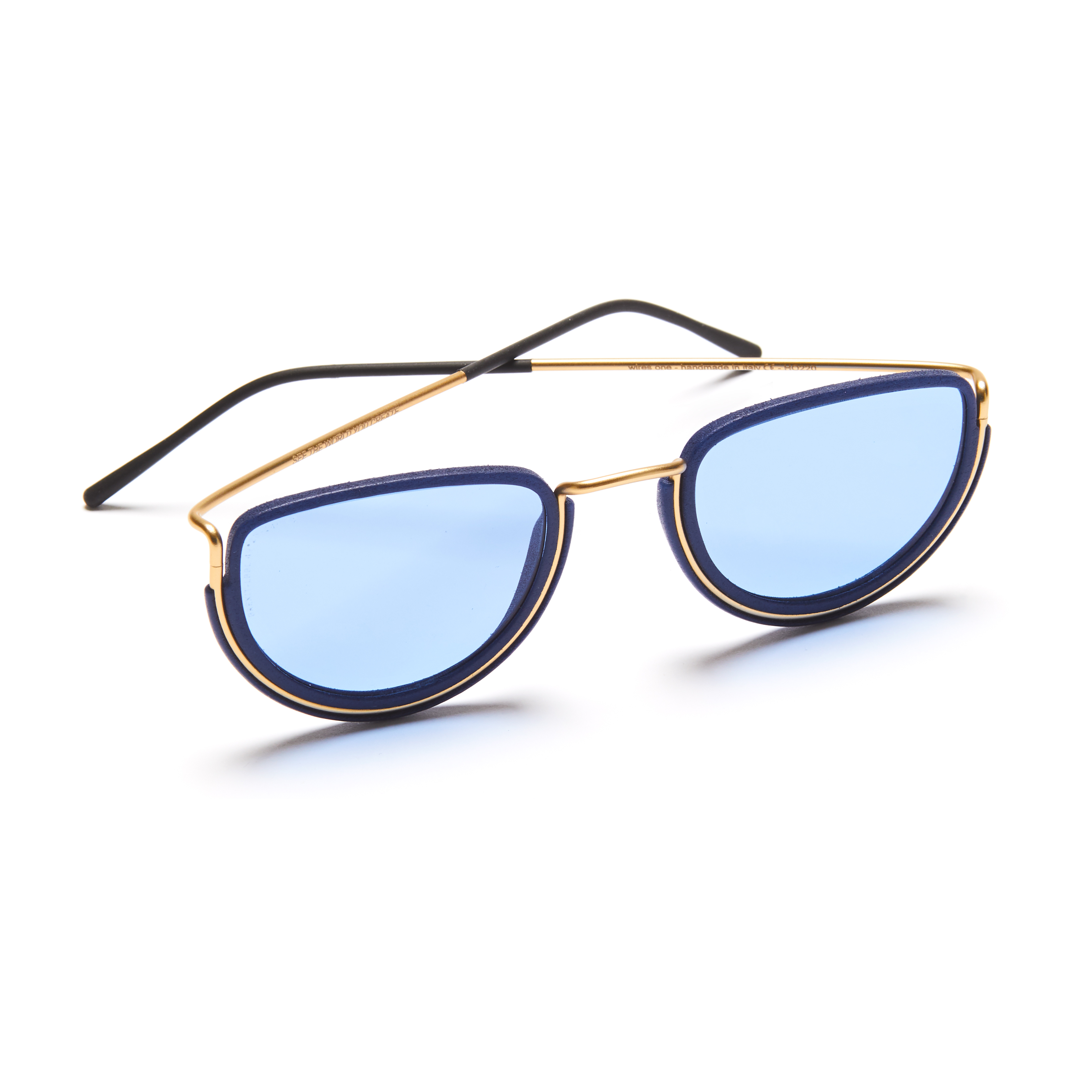 Half Moon Sunglasses by Wires Glasses on curated-crowd.com