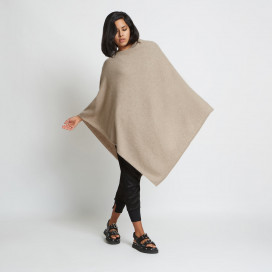 Jenica Cashmere Poncho by Santicler on curated-crowd.com