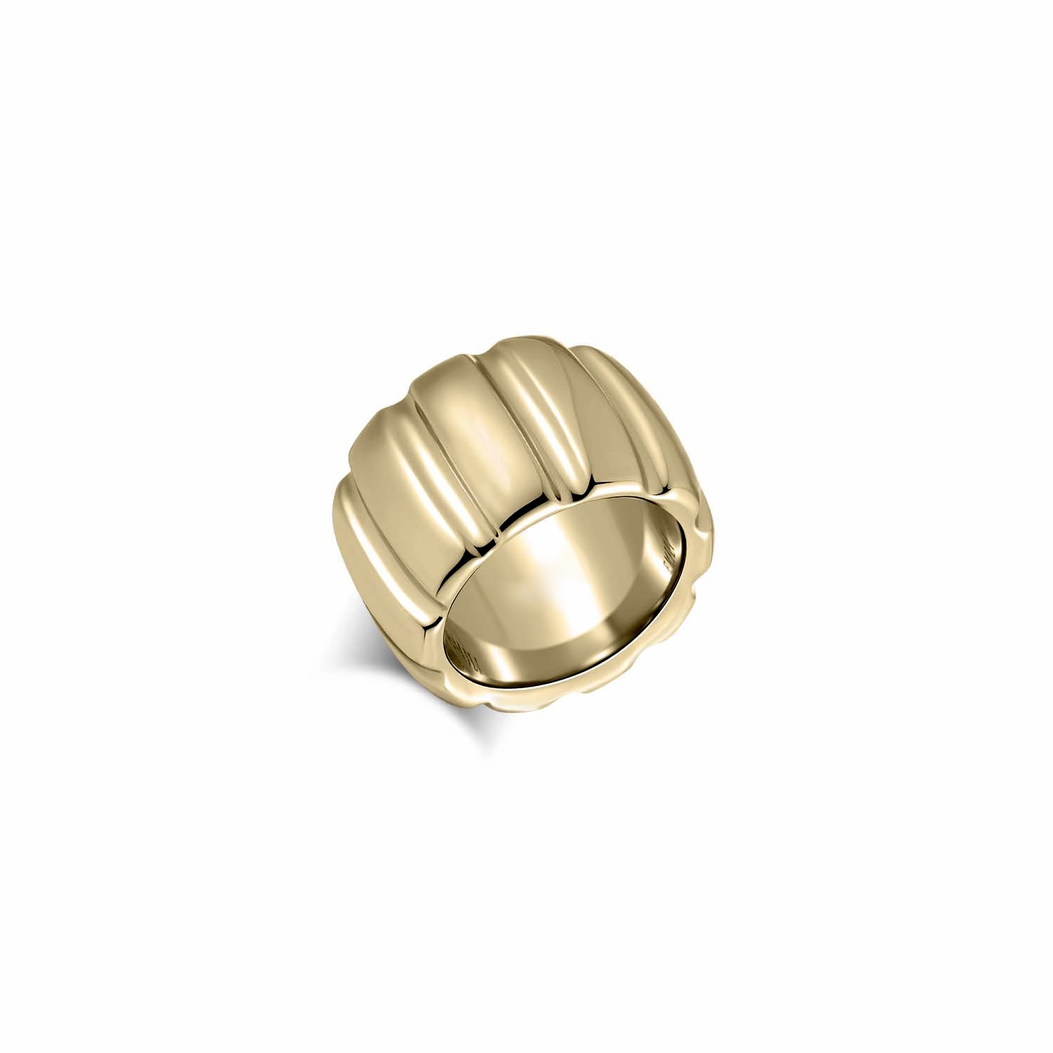 PRE-ORDER Chiara Gold Ring by Emili on curated-crowd.com