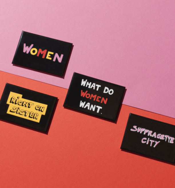 Bella Freud x Gillian Suffragette City Magnets by Plinth on curated-crowd.com