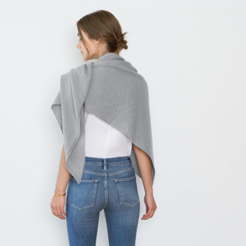 Anna Cashmere Triangle Scarf by Santicler on curated-crowd.com