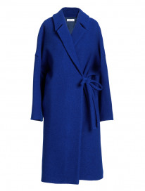 Cobalt Oversize Coat by Ailanto on curated-crowd.com