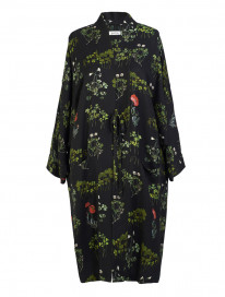 Black Poppies Kimono by Ailanto on curated-crowd.com