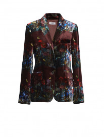 Wine Dandelions Blazer by Ailanto on curated-crowd.com