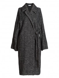 Herringbone Oversize Coat by Ailanto on curated-crowd.com