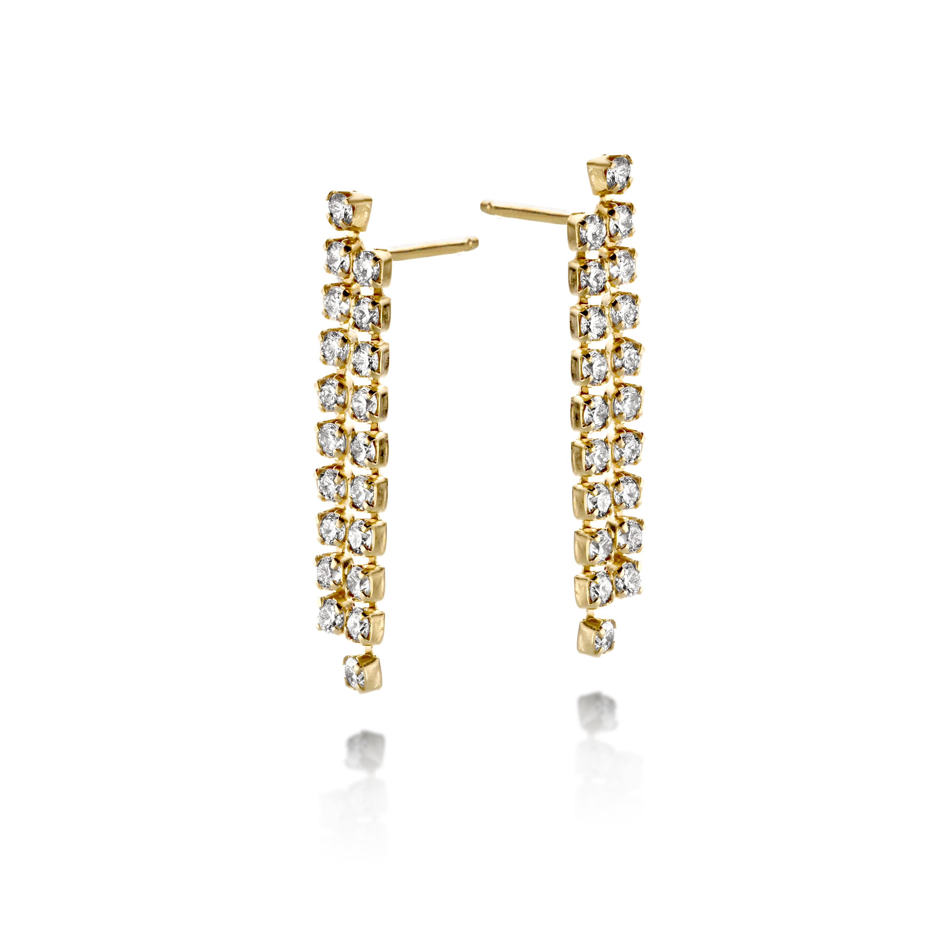 Radiance Danglers by N-UE Fine Jewellery on curated-crowd.com