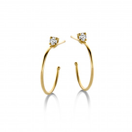 Flawless Maxi Hoops by N-UE Fine Jewellery on curated-crowd.com