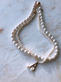 """Another of the Boleyn Family"" Pearl Necklace by Jewelry Lab on curated-crowd.com"