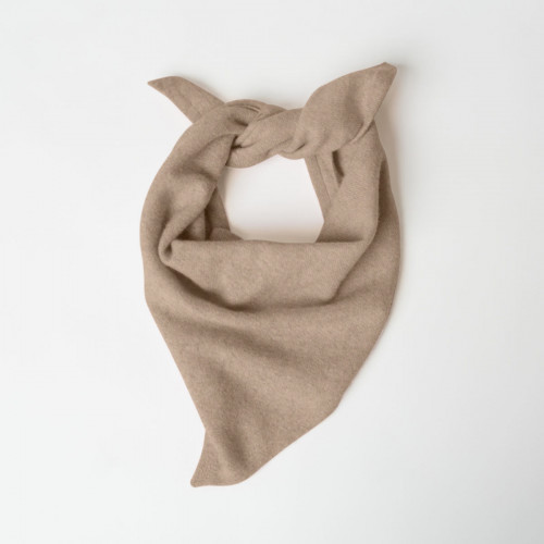 Taylor Cashmere Triangle Bandana by Santicler on curated-crowd.com