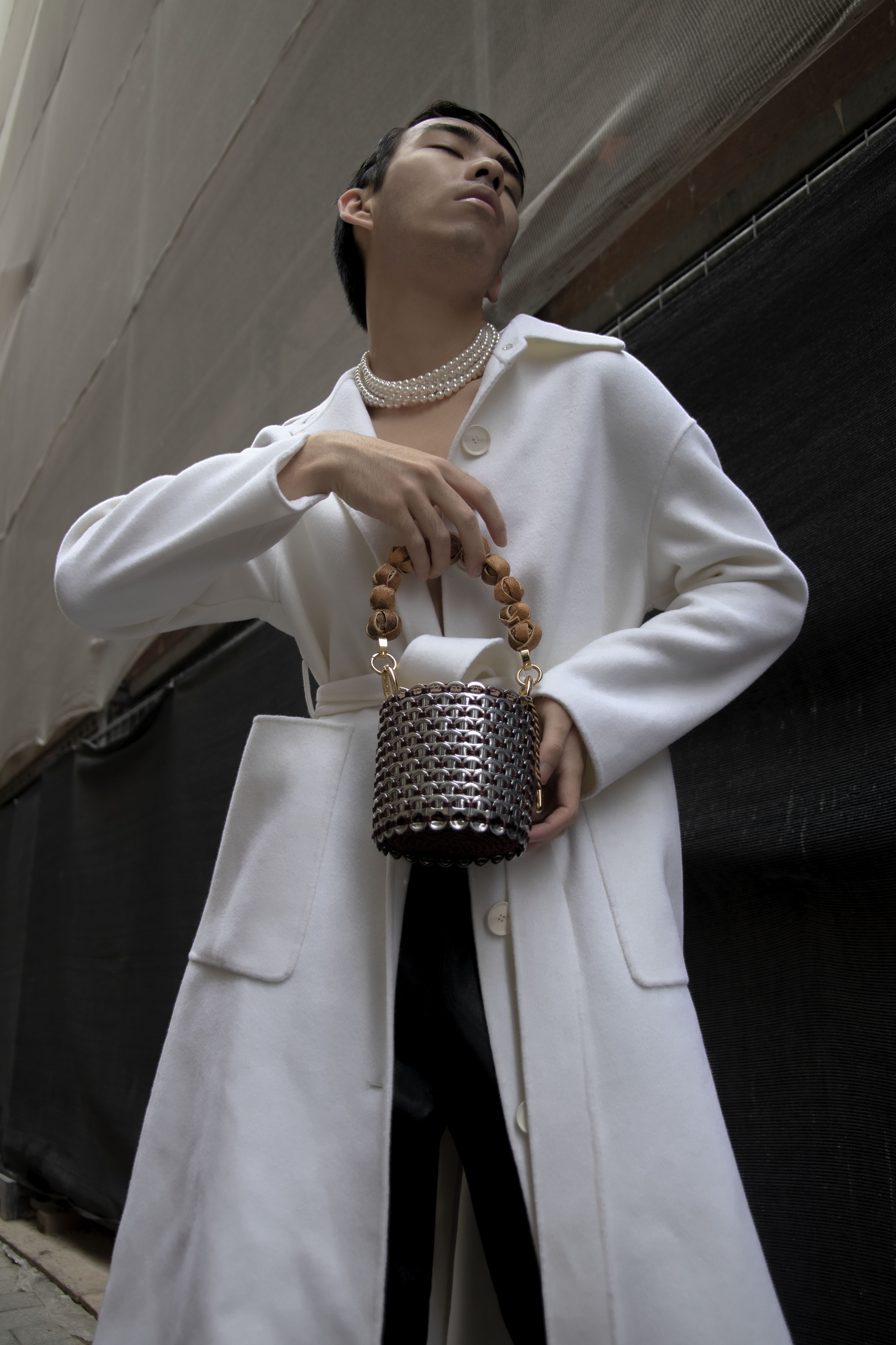 Alex Bucket Bag Mini Size by TDL Vanguard Crafts on curated-crowd.com