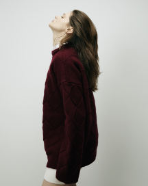 Square Big Chunky Sweater by Ami Amalia on curated-crowd.com