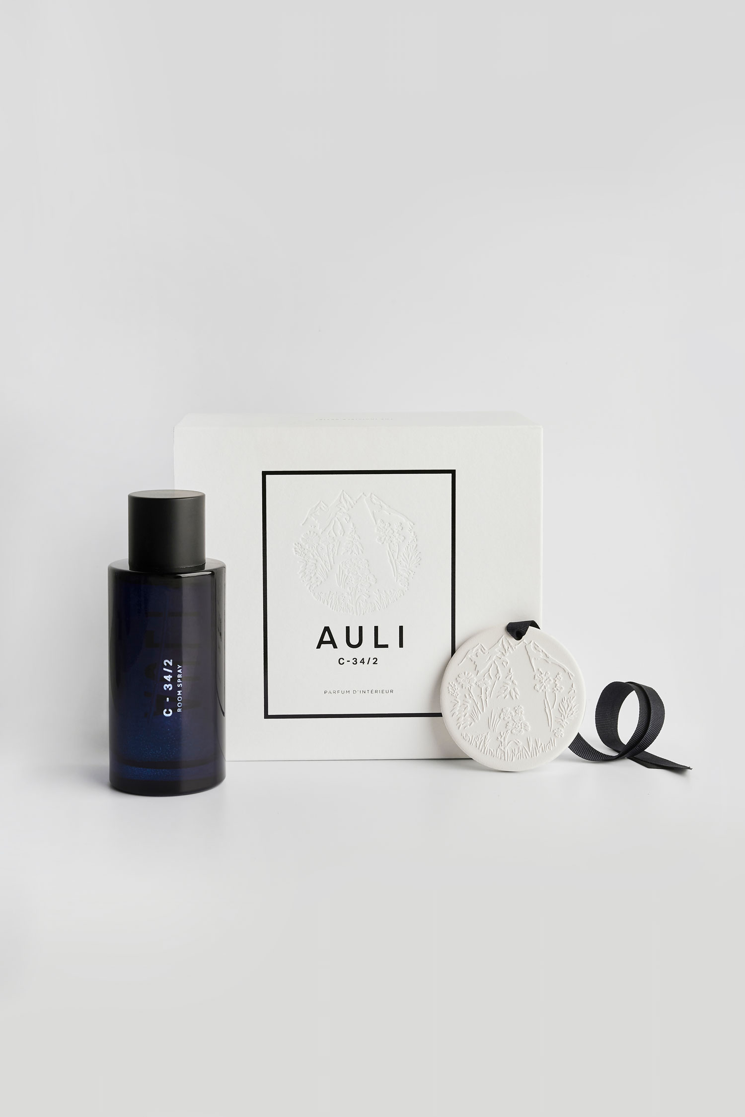 C-34/2 | Room Spray & Ceramic Disc by Auli London on curated-crowd.com