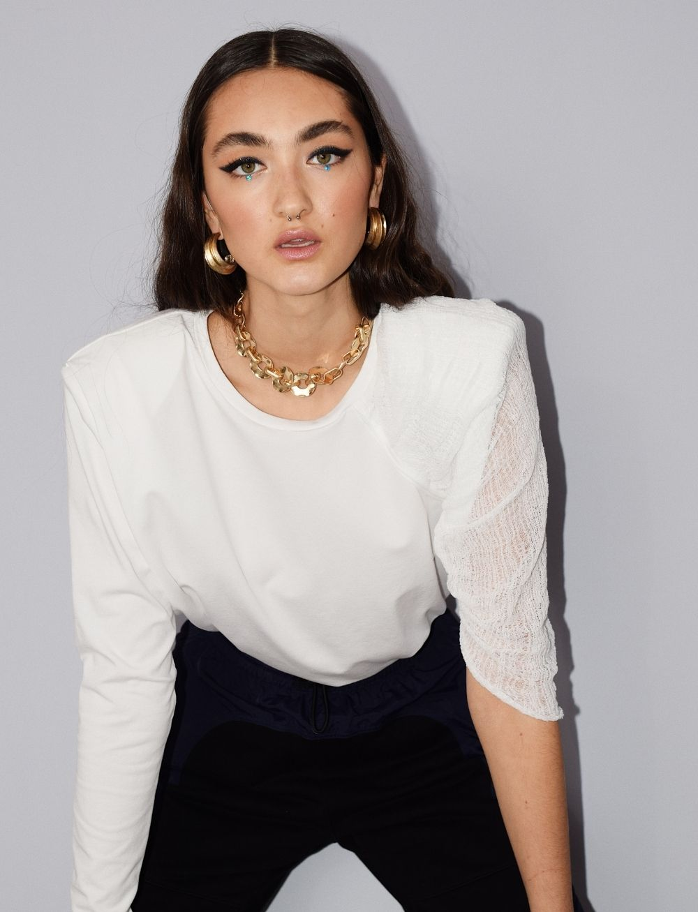 Robyn + Billie Blouse by Manurí on curated-crowd.com