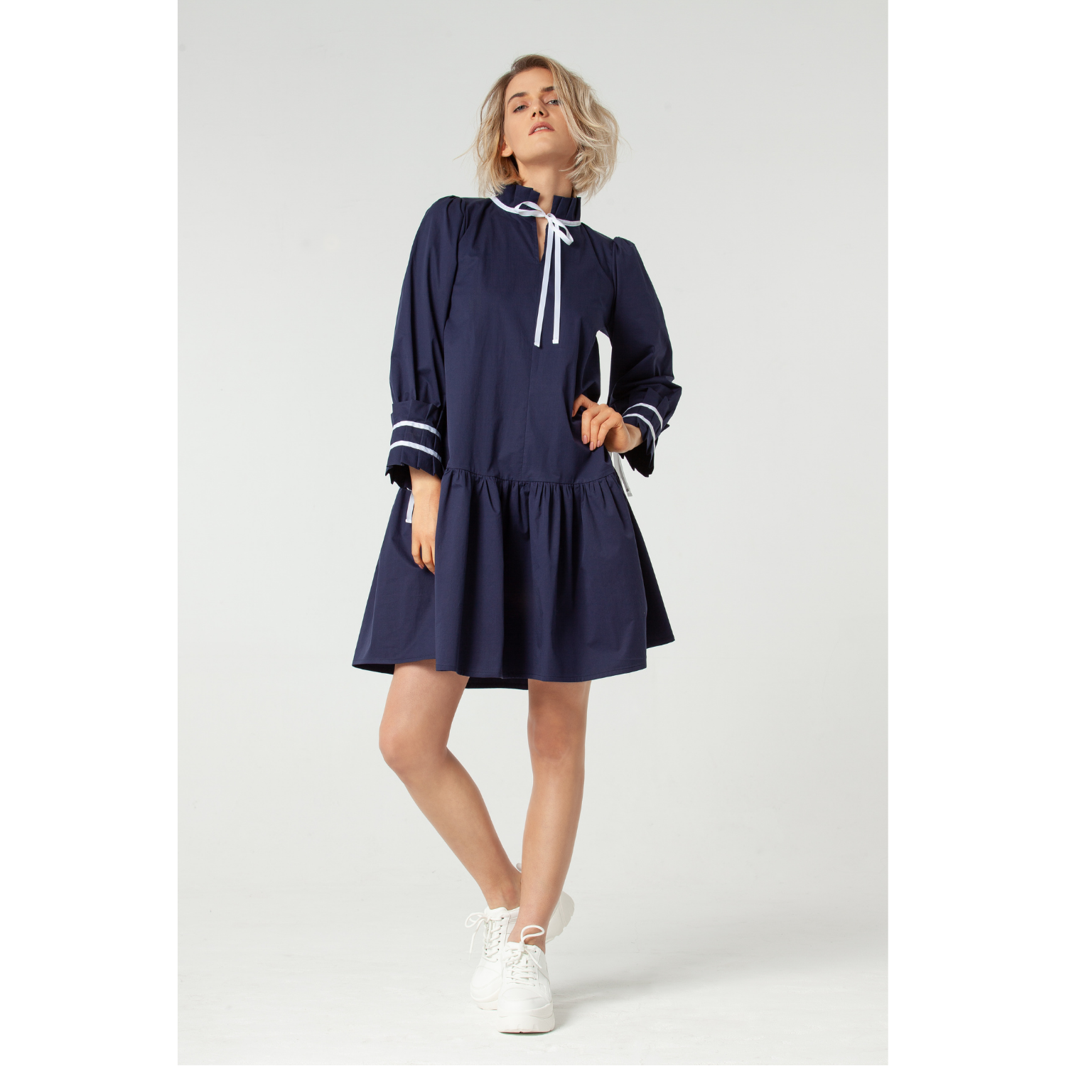 Simone Cotton Dress by Lorenz Peter on curated-crowd.com