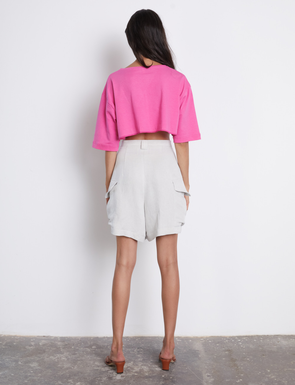 Pink Flamingo Top by Manurí on curated-crowd.com