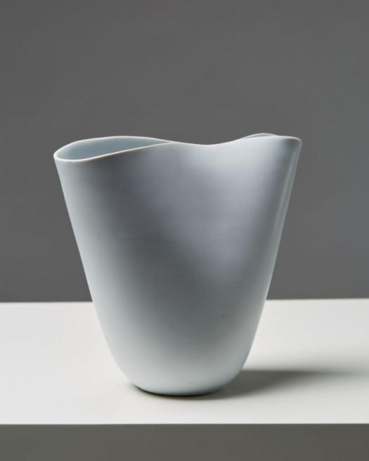 "Vase ""Veckla"" Designed by Stig Lindberg for Gustavsberg, Sweden. 1940's. by Modernity on curated-crowd.com"