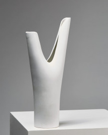 "Vase ""Veckla"" designed by Stig Lindberg for Gustavsberg, Sweden. 1940's. by Modernity on curated-crowd.com"