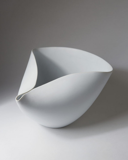 Bowl Veckla Designed by Stig Lindberg for Gustavsberg, Sweden. 1950's. by Modernity on curated-crowd.com