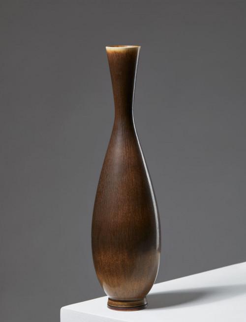 Vase designed by Berndt Friberg for Gustavsberg, Sweden. 1950's. by Modernity on curated-crowd.com