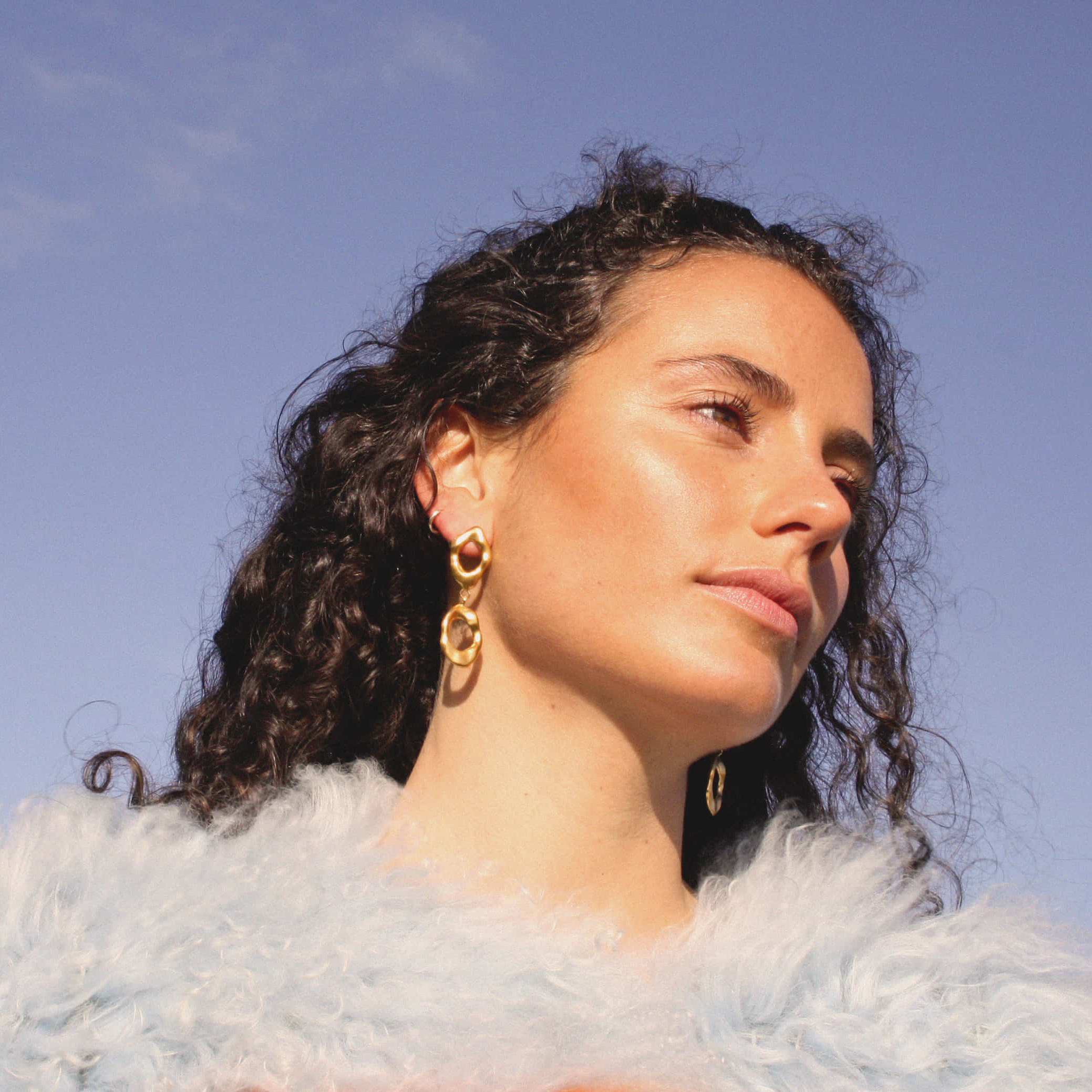 Cerridwen Drops Earrings by Angharad Studio on curated-crowd.com