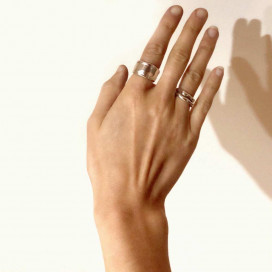 Elphin's Love Ring by Angharad Studio on curated-crowd.com