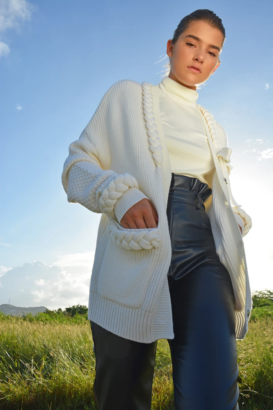 Daffodil Cardigan by PAPER London on curated-crowd.com