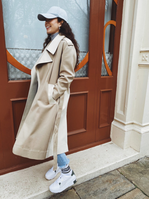 Olivia Coat by Voranida on curated-crowd.com