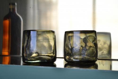 Set of 4 Nightlights of Mexico City Tumblers by La Muerte Tiene Permiso on curated-crowd.com